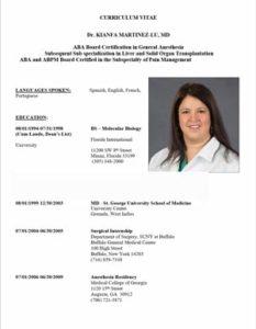CV Dr. Kianfa Martinez-lu