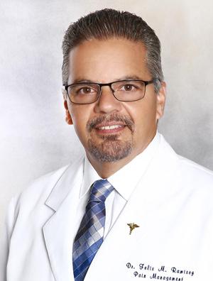 Dr Felix Ramirez Pain management specialist